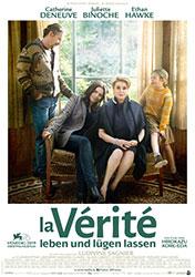 """La Vérité - Leben und lügen lassen"" Filmplakat (© 2019 PROKINO Filmverleih GmbH)"