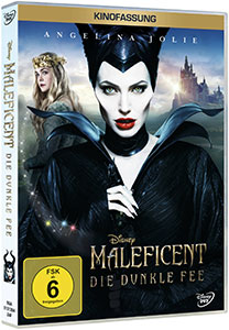 """Maleficent – Die dunkle Fee"" DVD (© Disney)"