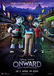 """""""Onward: Keine halben Sachen"""" Filmplakat (© 2020 Disney/Pixar. All Rights Reserved.)"""