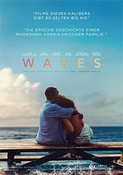 """Waves"" Filmplakat (© A24)"