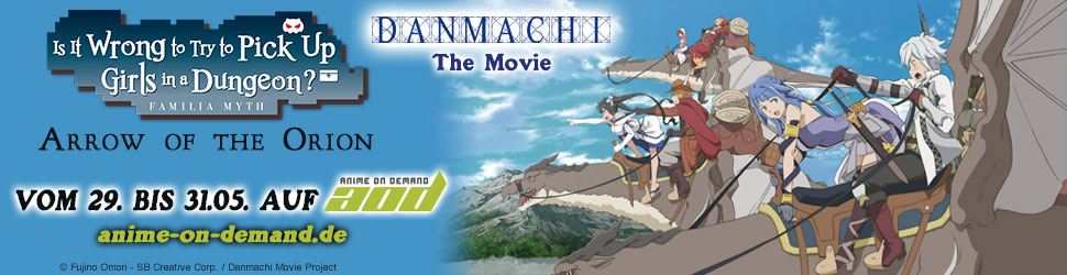 """DanMachi - The Movie - Arrow of the Orion"" (©Fujino Omori-SB Creative Corp./Danmachi Movie Project)"