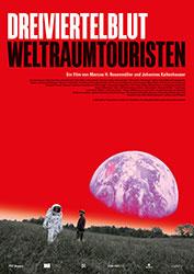 """""""Dreiviertelblut - Weltraumtouristen"""" Filmplakat (© Südkino)"""