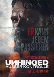 """Unhinged – Außer Kontrolle"" Filmplakat (© LEONINE)"