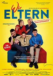 """Wir Eltern"" Filmplakat (© W-film / p.s. 72 productions)"
