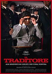 """""""Il Traditore – Als Kronzeuge gegen die Cosa Nostra"""" Filmplakat (© Pandora Film)"""