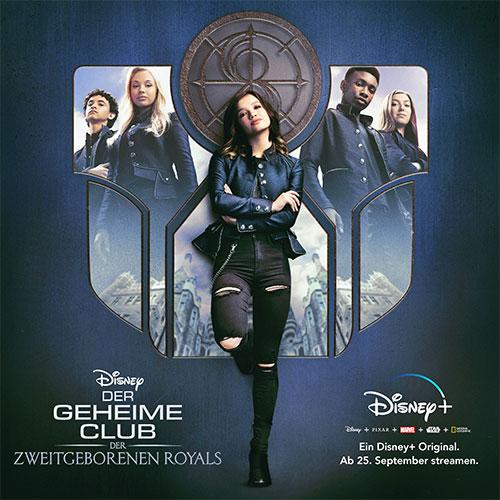 """Der geheime Club der zweitgeborenen Royals"""" starten auch viele andere beliebte Teenie Formate auf Disney+ (© Disney)"""