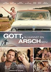 """""""Gott, du kannst ein Arsch sein!"""" Filmplakat (© LEONINE)"""