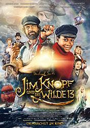 """""""Jim Knopf und die Wilde 13"""" Filmplakat (© Warner Bros. Ent., 2020)"""