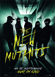"""The New Mutants"" Filmplakat (© 20th Century Studios)"