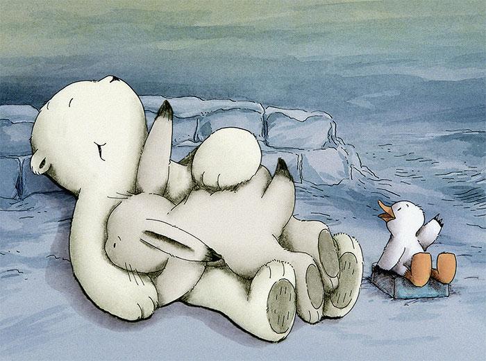 """""""Der kleine Eisbär"""" Szenenbild (© WDR)"""