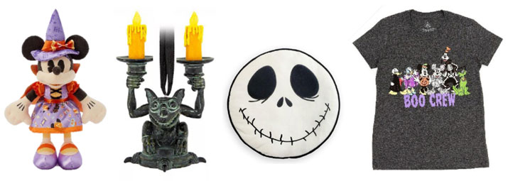 Halloween-Artikel im shopDisney (© Disney)