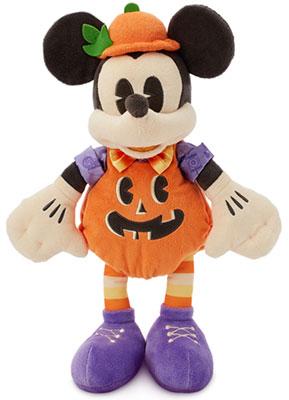 Micky Maus als Kürbis - Kuschelpuppe (© Disney)