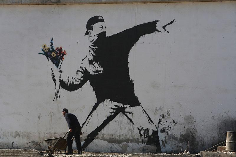 """Banksy and the Rise of Outlaw Art"" Szenenbild (© EuroVideo Medien)"