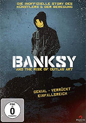 """""""Banksy and the Rise of Outlaw Art"""" (© EuroVideo Medien)"""