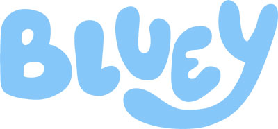 Bluey Logo (© 2018 BBC Worldwide Ltd.)