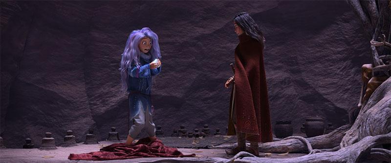 """""""Raya und der letzte Drache"""" Szenenbild (© Disney)"""