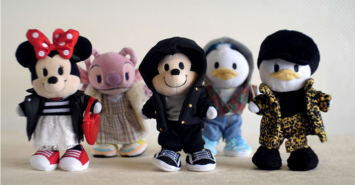 Disney nuiMOs - Looks von Maeve Reilly (© Disney)