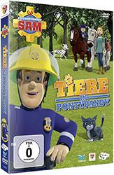 """""""Feuerwehrmann Sam - Tiere in Pontypandy"""" DVD (© justbridge entertainment GmbH)"""