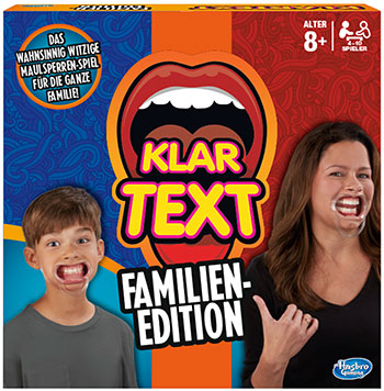 Klartext Familien Edition (© Hasbro Gaming)