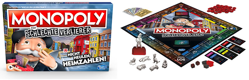 Monopoly für schlechte Verlierer (© Hasbro Gaming)