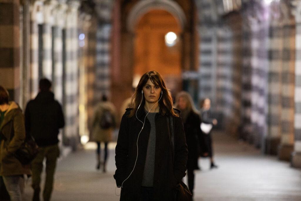 """""""Mord in Genua - Ein Fall für Petra Delicato"""" Szenenbild (© justbridge entertainment)"""