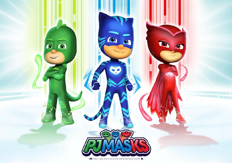 PJ Masks – Pyjamahelden (© Frog Box/Entertainment One UK Limited/Disney)