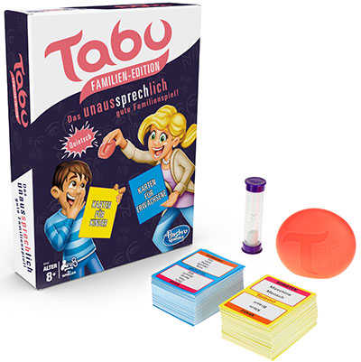 Tabu Familien Edition (© Hasbro Gaming)