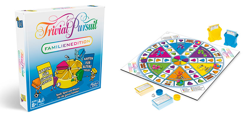 Trivial Pursuit Familien Edition (© Hasbro Gaming)