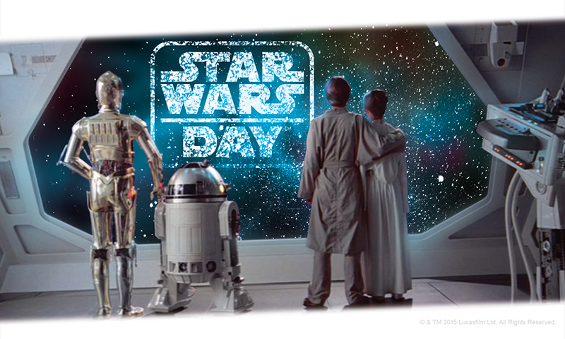 Star Wars Day (© & TM Lucasfilm Ltd.)