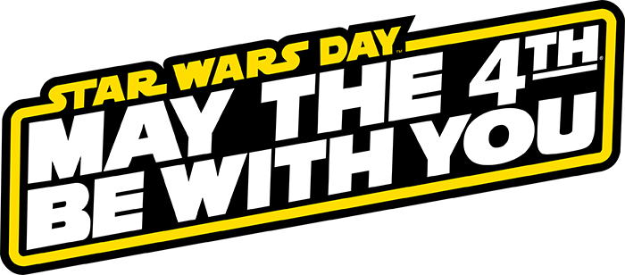 Star Wars Day May 4 Logo (© & TM Lucasfilm Ltd.)