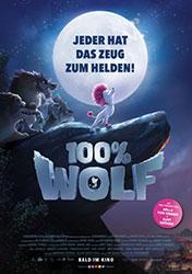 """100% Wolf"" Filmplakat (© 2021 Constantin Film Verleih GmbH)"