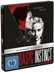 """Basic Instinct"" Limited Edition 4K UHD Steelbox (© Studiocanal GmbH)"