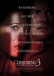 """Conjuring 3: Im Bann des Teufels"" Filmplakat (© 2021 Warner Bros. Entertainment Inc. All Rights Reserved.)"