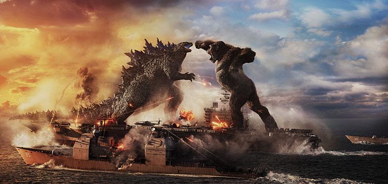 """Godzilla vs. Kong"" Szenenbild (© 2021 LEGENDARY AND WARNER BROS. ENTERTAINMENT INC. ALL RIGHTS RESERVED. GODZILLA TM & © TOHO CO., LTD.)"