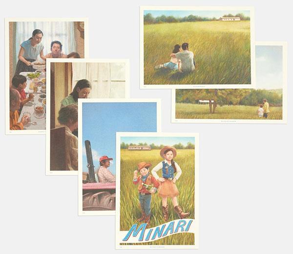 """""""Minari - Wo wir Wurzeln schlagen"""" Postkartenset"""