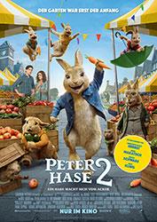 """""""Peter Hase™ 2 - Ein Hase macht sich vom Acker"""" Filmplakat (© 2020 Sony Pictures Entertainment Deutschland GmbH)"""