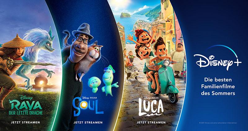 Der Disney-Sommer auf Disney+ (© Disney/Pixar)
