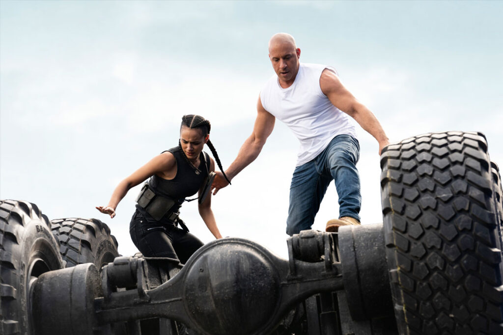 """""""Fast & Furious 9"""" Szenenbild (© 2021 Universal Pictures. All Rights Reserved.)"""