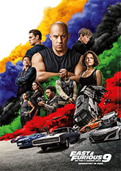 """""""Fast & Furious 9"""" Filmplakat (© 2021 Universal Pictures. All Rights Reserved.)"""