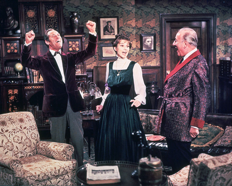 """My Fair Lady"" Szenenbild (© 1964 Warner Bros. Pictures Inc.)"