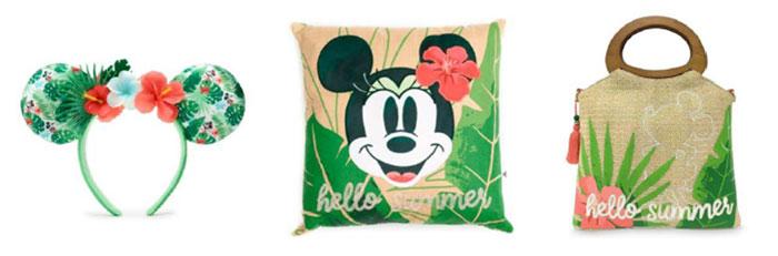 Artikel der Tropical Hideaway Kollektion im shopDisney (© Disney)