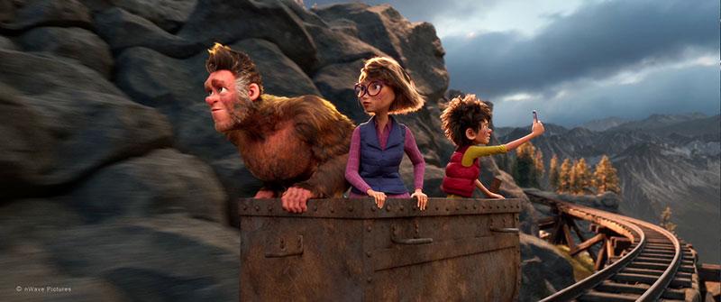 """""""Bigfoot Junior - Ein tierisch verrückter Familientrip"""" Szenenbild (© Splendid Film GmbH)"""