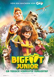 """""""Bigfoot Junior - Ein tierisch verrückter Familientrip"""" Filmplakat (© Splendid Film GmbH)"""