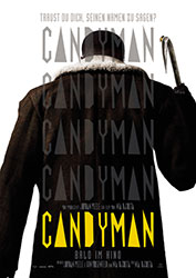 """""""Candyman"""" Filmplakat (© 2020 Universal Pictures and MGM Pictures. All Rights Reserved.)"""