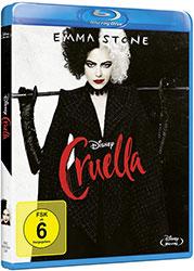"""""""Cruella"""" Blu-ray Cover (© 2021 Disney)"""