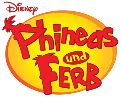 """""""Phineas und Ferb"""" Logo (© Disney)"""