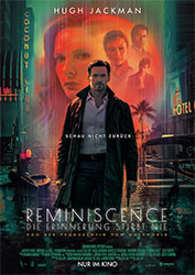 """""""Reminiscence: Die Erinnerung stirbt nie"""" Filmplakat (© 2021 Warner Bros. Entertainment Inc. All Rights Reserved.)"""