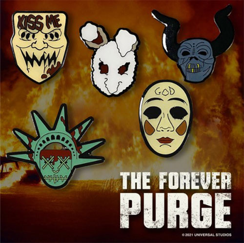 """""""The Forever Purge"""" Pin-Set"""