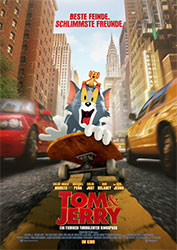 """""""Tom & Jerry"""" Filmplakat (© 2020 Warner Bros. Entertainment Inc. All Rights Reserved.)"""