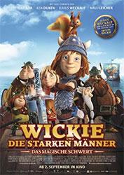 """""""Wickie und die starken Männer - Das magische Schwert"""" Filmplakat (© LEONINE)"""